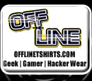 Gamer t-shirts, geek shirts, hacker gear